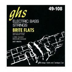Струни GHS BASS BRITE FLATS™ M3075 49-108