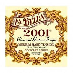 Струни для класичної гітари La Bella 2001 MED-HARD