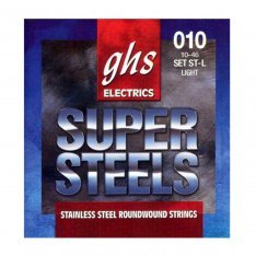 Струни для акустичної гітари GHS ST-L Super Steels
