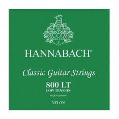 Струни для класичної гітари Hannabach 800LT