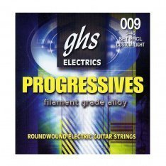 Струни GHS Progressives PRCL Custom Light