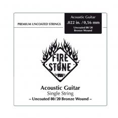 Струна для акустичної гітари Fire&Stone 80/20 Bronze Single String .052