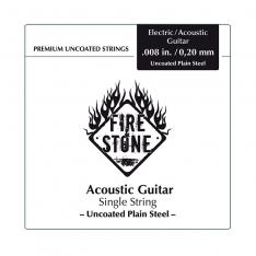 Струна для акустичної гітари Fire&Stone Single String .012