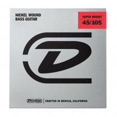 Струни для бас-гітари Dunlop DBSBS45105 Super Bright Medium