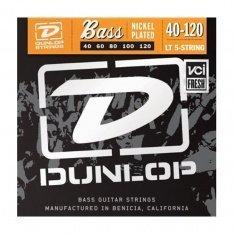 Струни для бас-гітари Dunlop DBN40120T Nickel Plated Steel Light 5