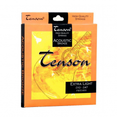 Струни для акустичної гітари Tenson Acoustic Bronze Extra Light