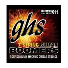 Струни для електрогітари GHS Boomers Heavy Electric Guitar GB7H