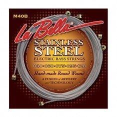 Струни для бас-гітари La Bella M40