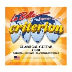 Струни для акустичної гітари La Bella C800