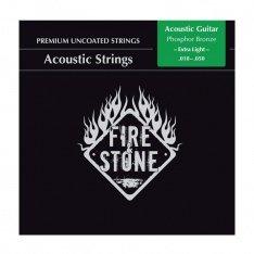 Струни для акустичної гітари Fire&Stone Phosphor Bronze Extra light