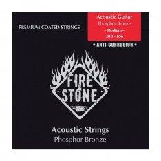 Струни для акустичної гітари Fire&Stone Set Phosphor Bronze Medium