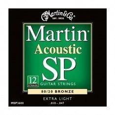 Струни для акустичної гітари Martin MSP3600