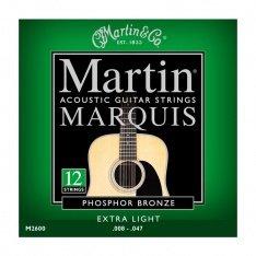 Струни для акустичної гітари Martin Marquis Phosphor Bronze M2600