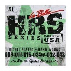 Струни для електрогітари La Bella HRS-XL Nickel-Plated Round Wound – Extra Light 09-42