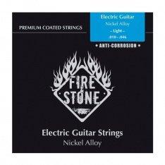 Струни для електрогітари Fire&Stone Nickel Alloy Coated Light