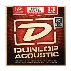 Струни для акустичної гітари Dunlop DAB1356 80/20 Bronze Medium