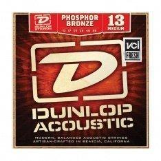 Струни для акустичної гітари Dunlop DAP1356 Phosphor Bronze Medium
