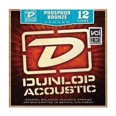 Струни для акустичної гітари Dunlop DAP1254 Phosphor Bronze Light