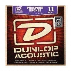 Струни для акустичної гітари Dunlop DAP1152 Phosphor Bronze Medium Light