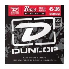 Струни для бас-гітари Dunlop DBS45105 Nickel Plated Steel Medium