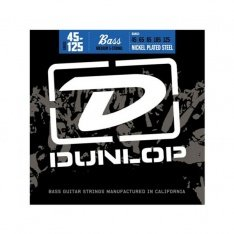 Струни для бас-гітари Dunlop DBN45125 Nickel Plated Steel Medium 5-125