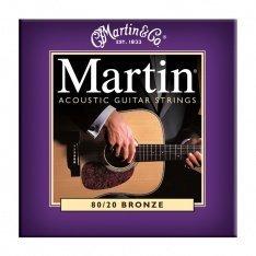 Струни для акустичної гітари Martin Bronze M175