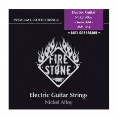 Струни для електрогітари Fire&Stone Nickel Alloy Coated Super Light