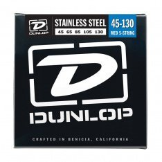 Струни для бас-гітари Dunlop DBS45130T Stainless Steel