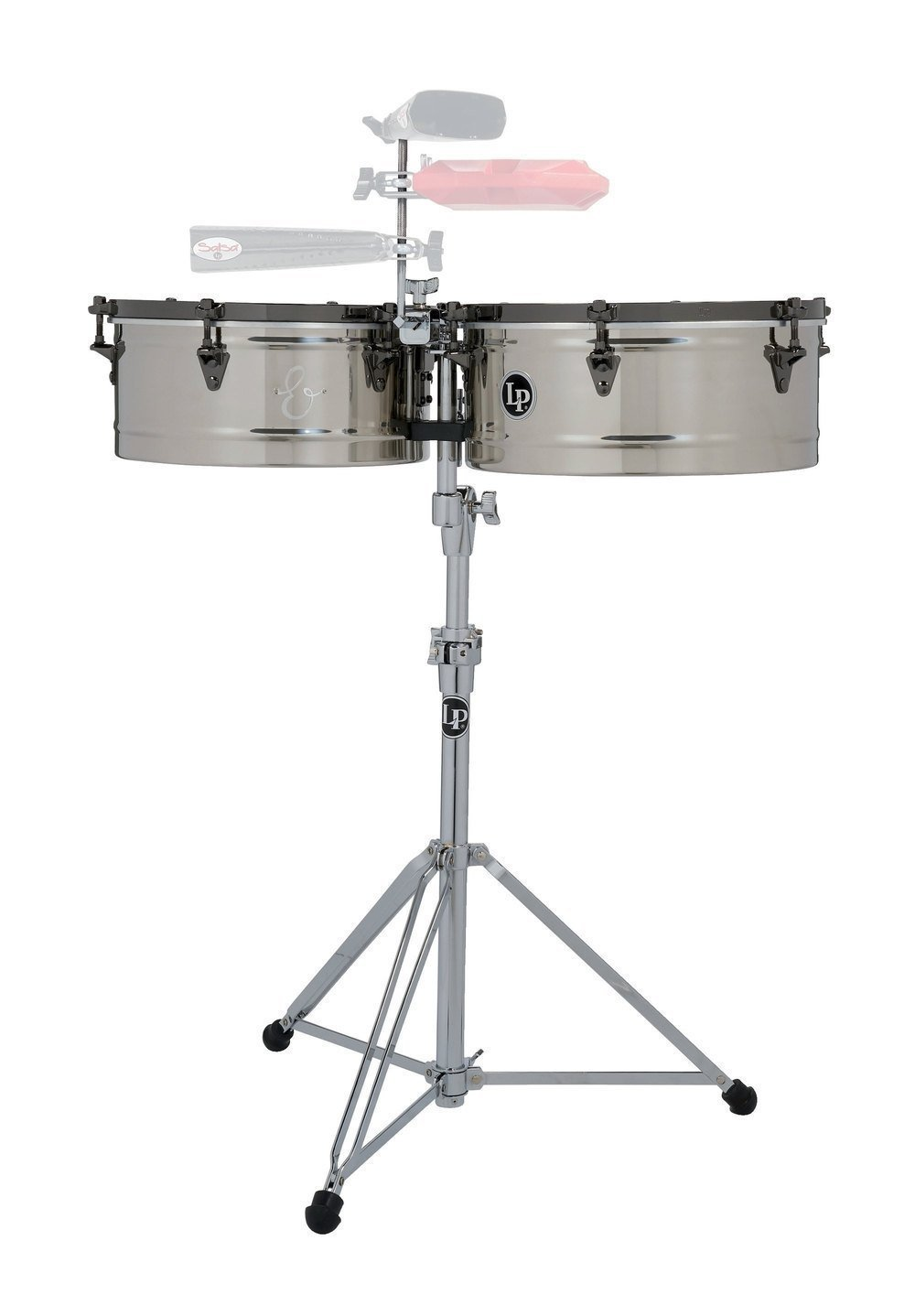 Тімбалес Latin Percussion LP1415-EC E-Class Stainless Steel