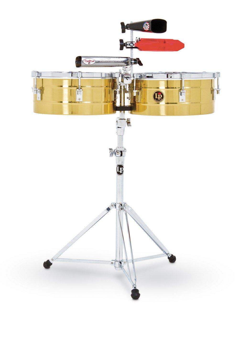 Тімбалес Latin Percussion LP256-B Tito Puente Solid Brass
