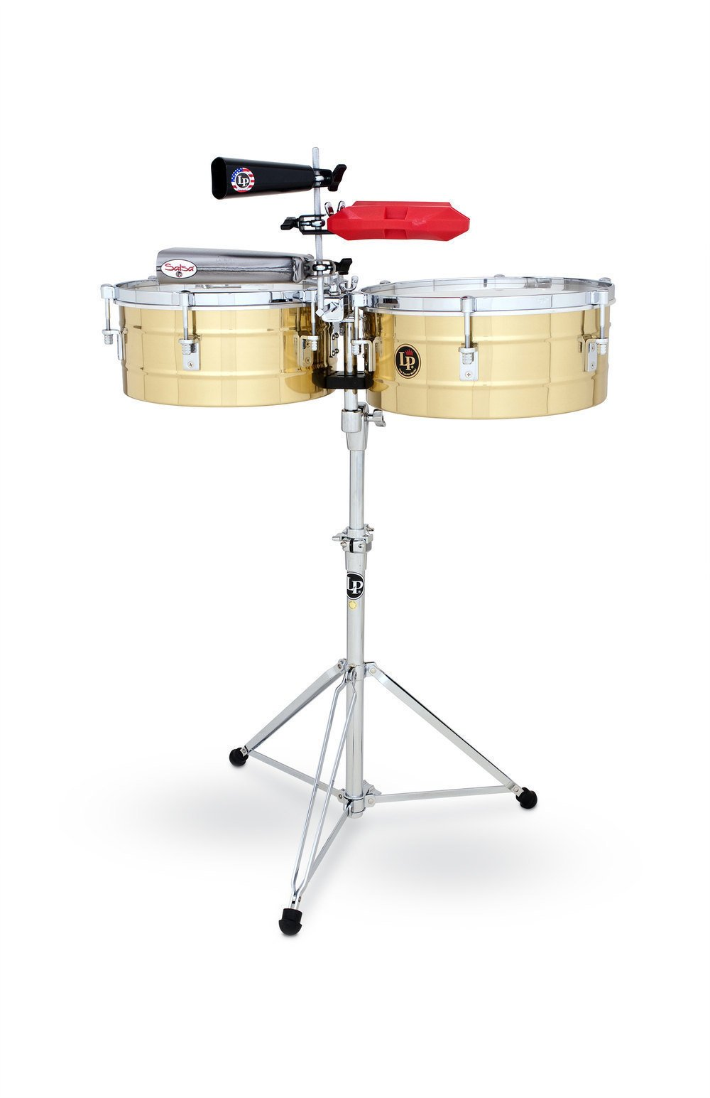 Тімбалес Latin Percussion LP257-B Tito Puente Solid Brass