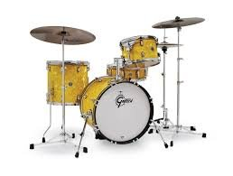 Барабанна установка Gretsch Catalina Club CT1-J484-YSF Yellow Satin Flame