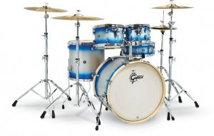 Барабанна установка Gretsch Shell Set Catalina Birch Limited CS1-E625-BSD Blue Silver Duco