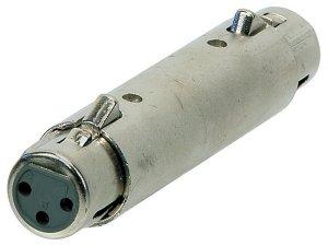 Перехідник GEWA 191.614 Adapter XLR (f) - XLR (f)