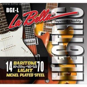 Струни для електрогітари La Bella BGE-L 14-70
