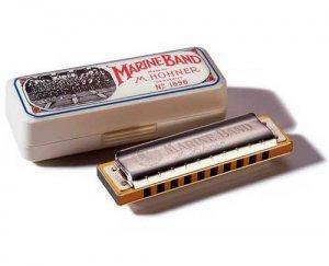 Губна гармошка Hohner M200501 D Marine Band