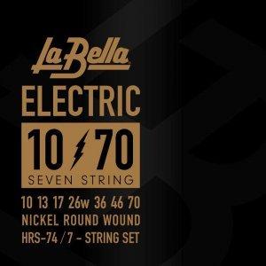 Струни для електрогітари La Bella HRS-74 10-70