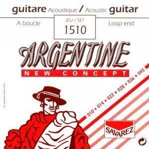 Струни для акустичної гітари SAVAREZ Argentine 1510 Jazz Guitar