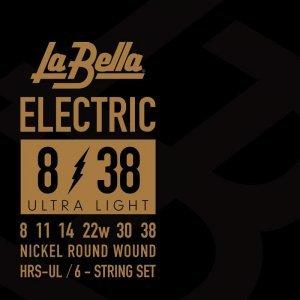 Струни для електрогітари La Bella HRS-UL