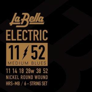 Струни для електрогітари La Bella HRS-MB 11-52