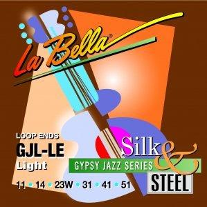 Струни для класичної гітари La Bella GJL-LE Gypsy Jazz (P.end)