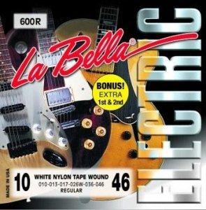 Струни для електрогітари La Bella 600R (10-46)