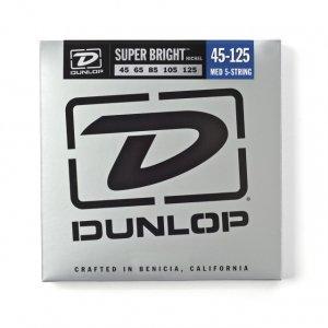 Струни Dunlop DBSBN45125 Super Bright нікель (5стор)