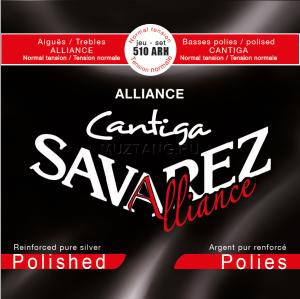 Струни для класичної гітари SAVAREZ 510 ARH Alliance Cantiga Red