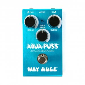 Педаль гітарна Dunlop WM71 Way Huge Smalls Aqua Puss Analog Delay