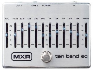 Педаль гітарна Dunlop M108S MXR Ten Band EQ