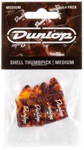 Медіатори (кіготь) Dunlop 9022P Shell Plastic Thumbpicks Medium (4 шт)