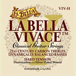 Струни для класичної гітари La Bella VIV-H Hard Tension