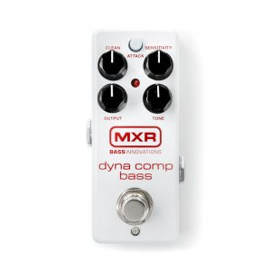 Педаль гітарна Dunlop M282G1 MXR Dyna Comp Bass Mini