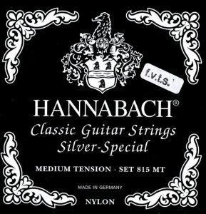 Струни для класичної гітари Hannabach 815 FМT (Medium)
